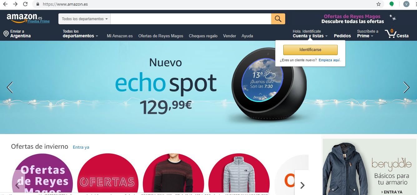 Come eliminare un account Amazon 1