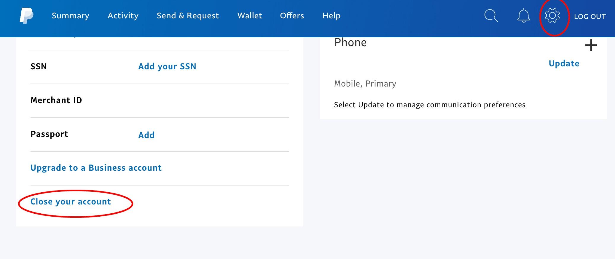 ⚡ Come eliminare un conto PayPal su PC e cellulare ⚡ 1