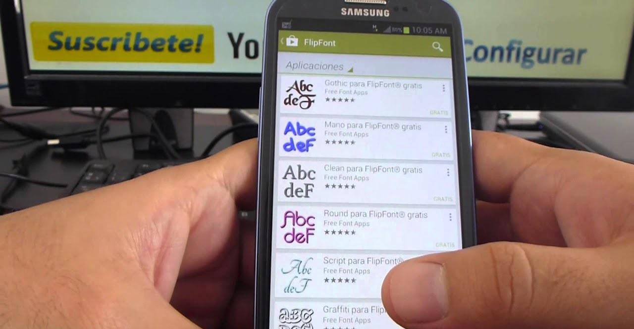 Come scaricare font (caratteri tipografici) gratis per Android 1