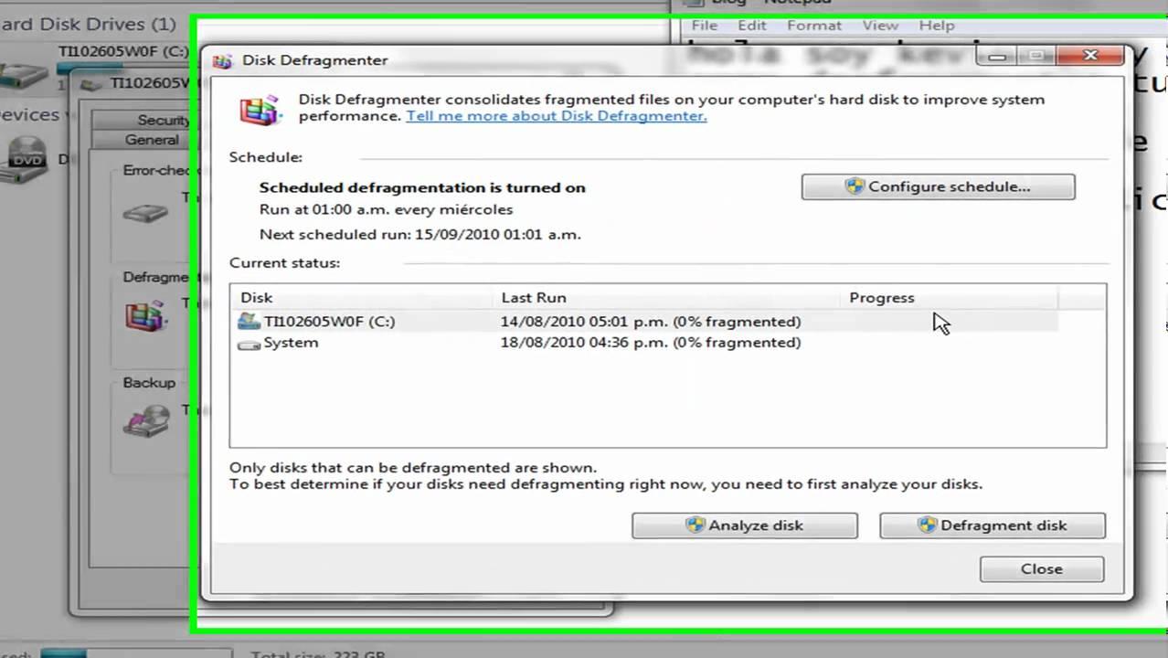 Come deframmentare un disco rigido per migliorare le prestazioni di Windows? 2