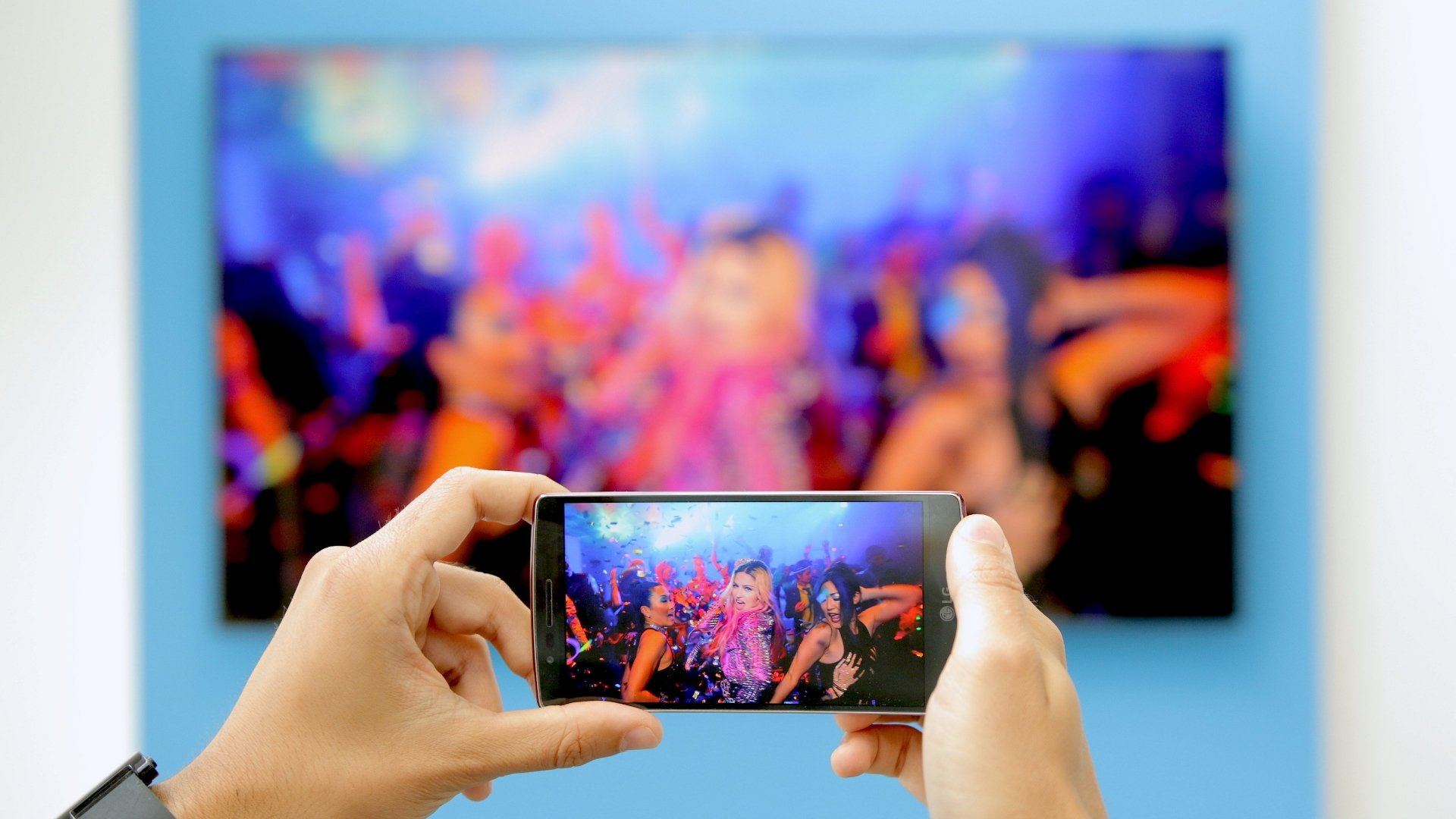 Come duplicare lo schermo del telefono su una TV LG 2