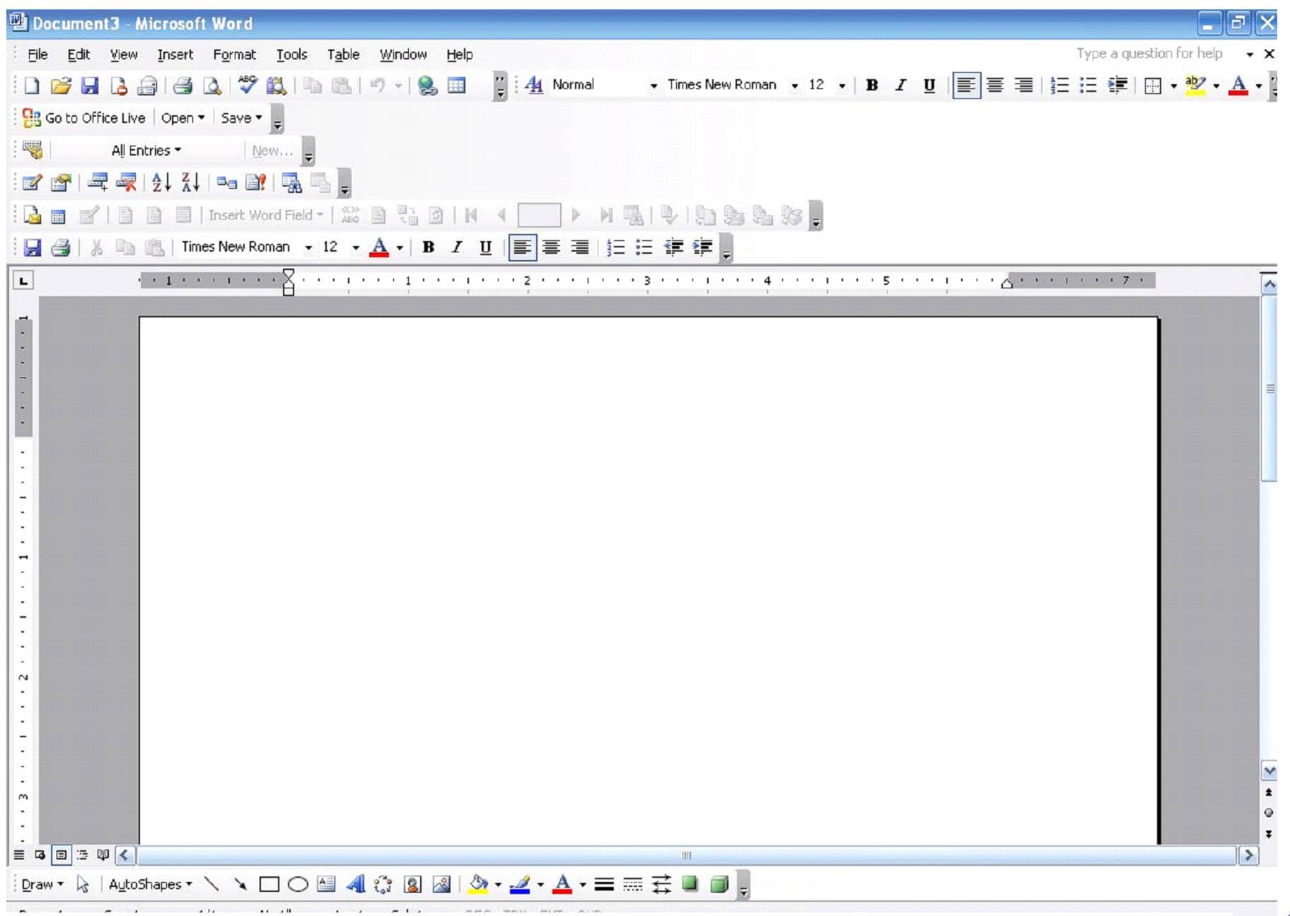 Come elencare manualmente le pagine in Word 1