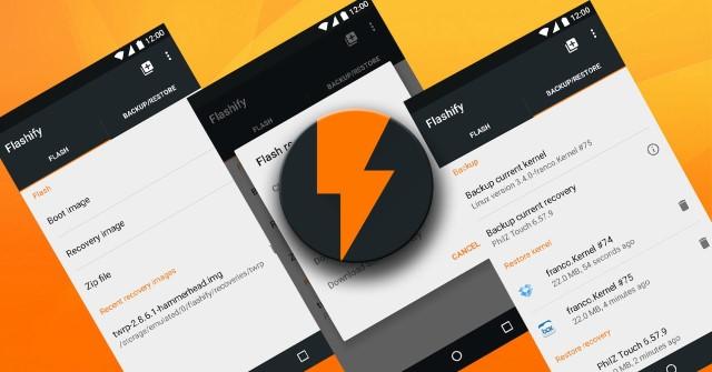 Come Flash ROM con Flashify semplice e veloce 1