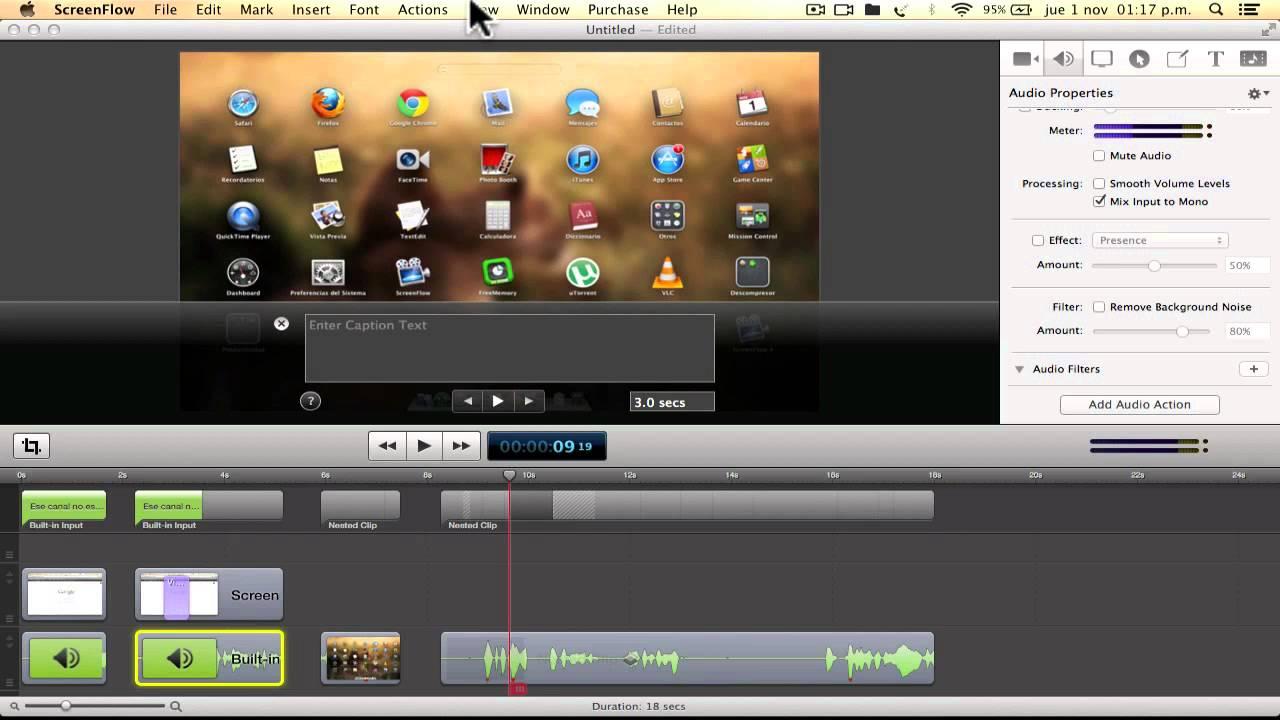 Come registrare lo schermo su Mac Step by Step 2