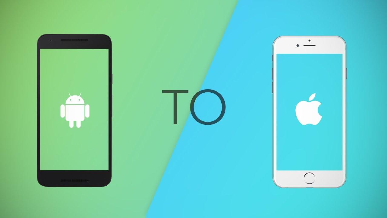 Come passare iOS Tutte le informazioni Android su un iPhone 2