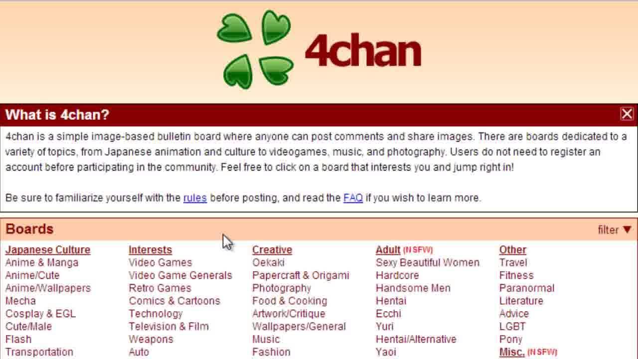 Che cos'è 4Chan e come utilizzarlo [E alternative a 4Chan] 2