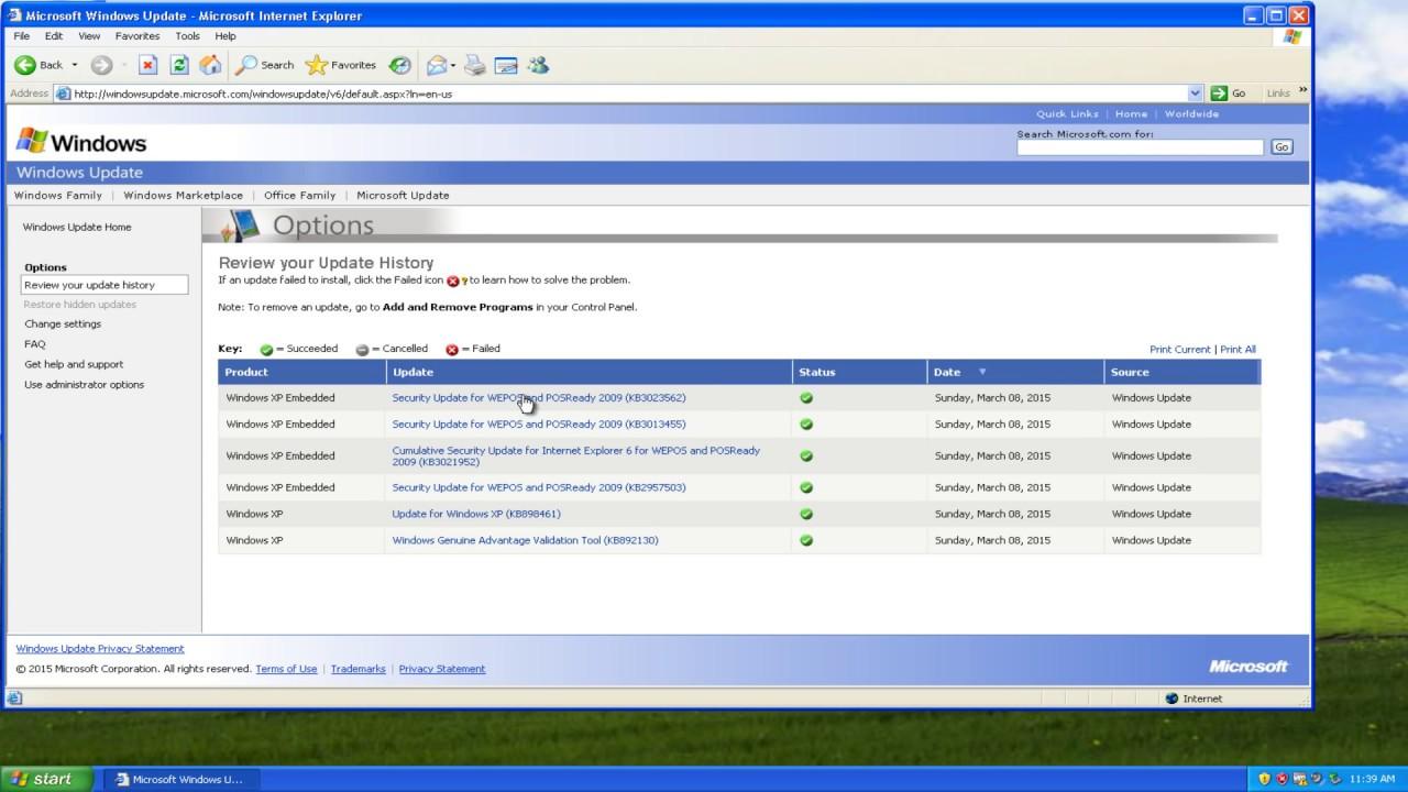 Come aggiornare Windows XP 1