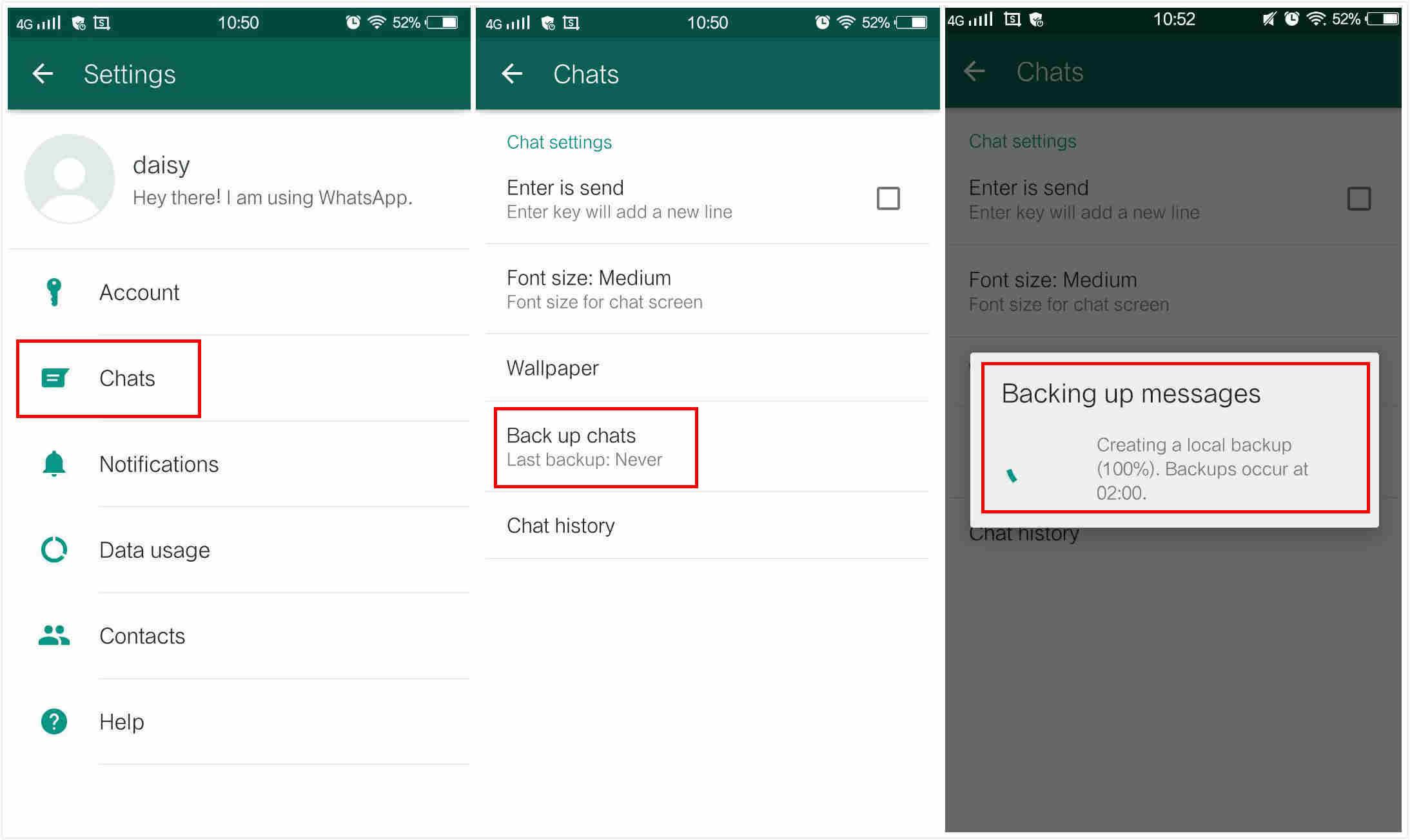 Come condividere o esportare tutto il contenuto di una chat di WhatsApp 2