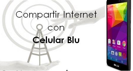 Come condividere Internet con un cellulare Blu 1