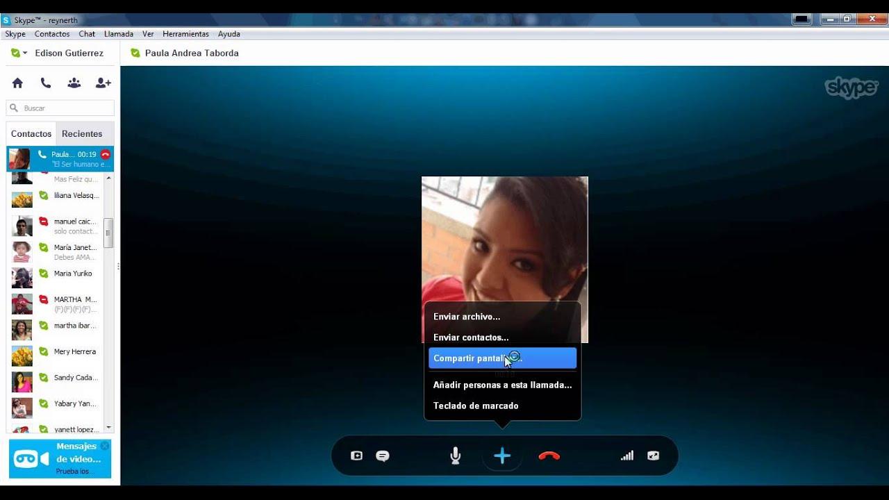 Come condividere lo schermo durante una chiamata Skype 2