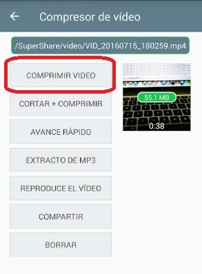 Come comprimere un video da inviare da WhatsApp Messenger? Guida passo passo 2