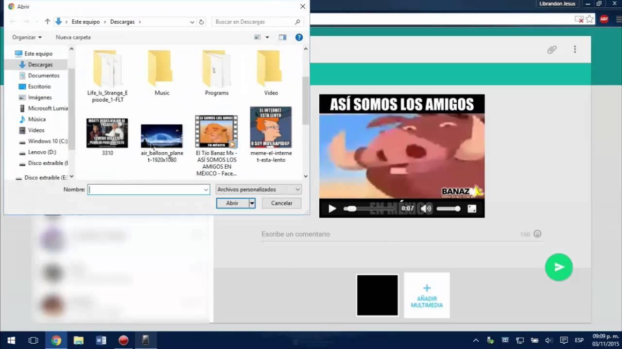 Come comprimere un video da inviare tramite WhatsApp 3