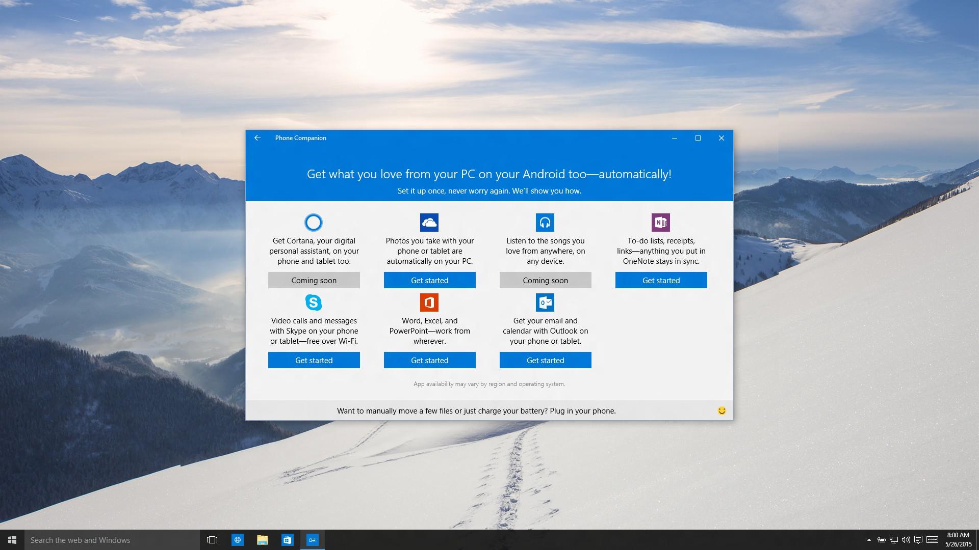 Come collegare i dispositivi Android a Windows 10 passo dopo passo 2
