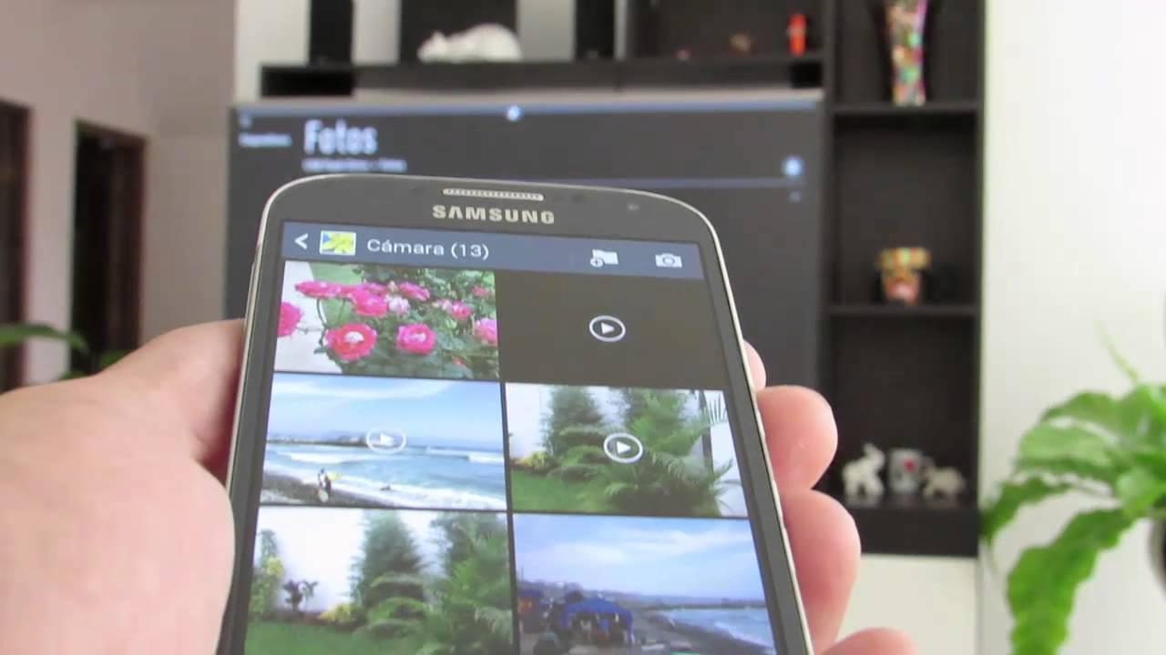 Come sincronizzare passo dopo passo lo schermo del cellulare su una TV LG 1