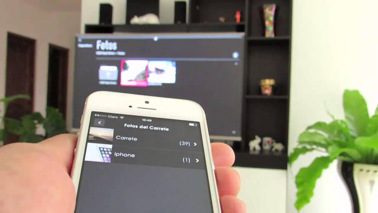 Come sincronizzare passo dopo passo lo schermo del cellulare su una TV LG 2