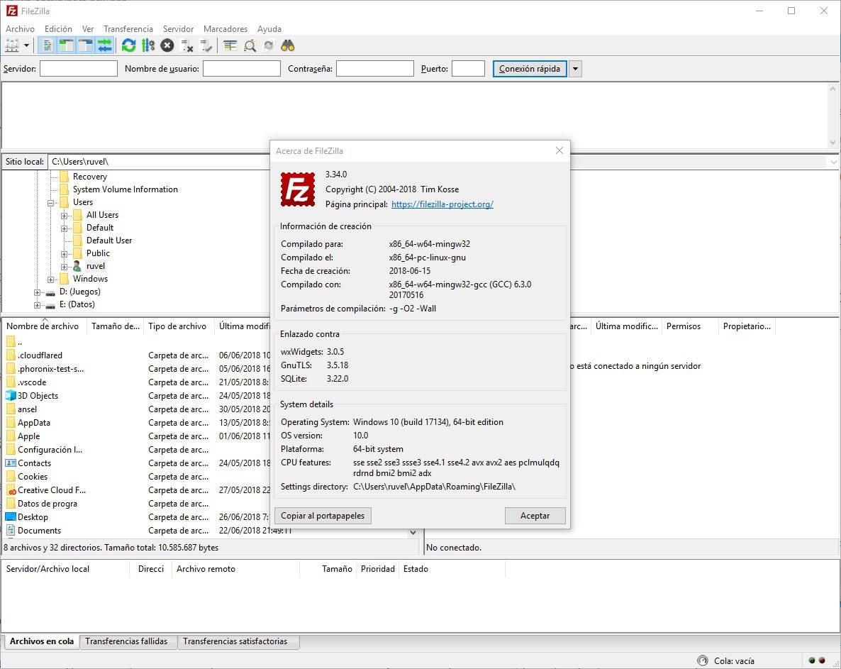 Come connettersi a un server FTP con FileZilla 1