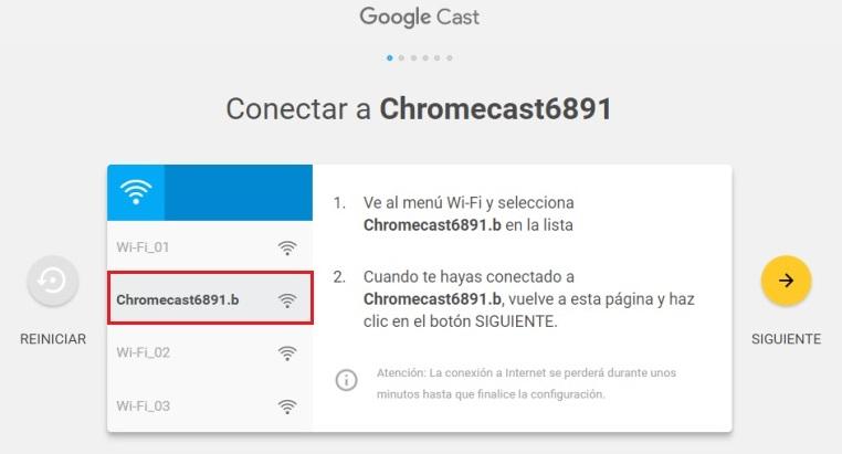 Come configurare Chromecast da qualsiasi dispositivo? Guida passo passo 4