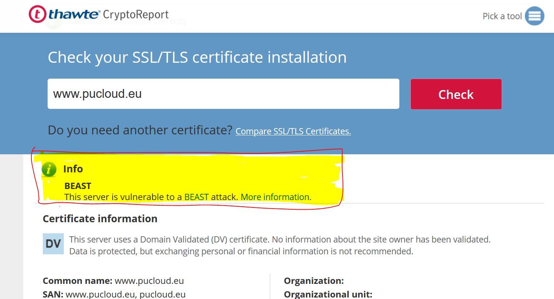 Che cos'è una connessione SSL con certificato non valido? 1