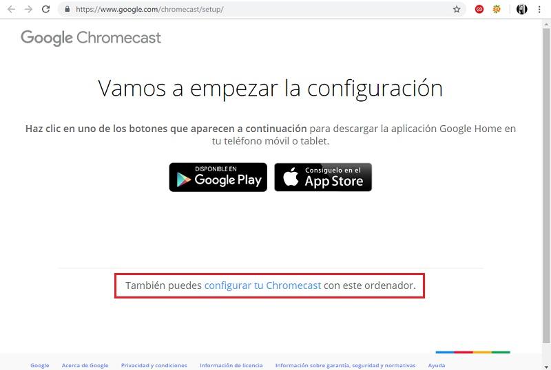 Come configurare Chromecast da qualsiasi dispositivo? Guida passo passo 1