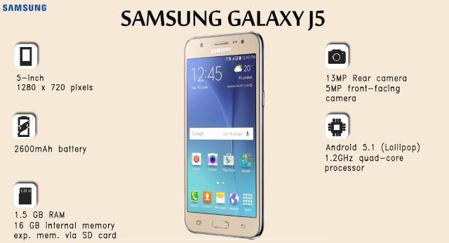 Conosci i vantaggi e gli svantaggi del Samsung Galaxy J5 2