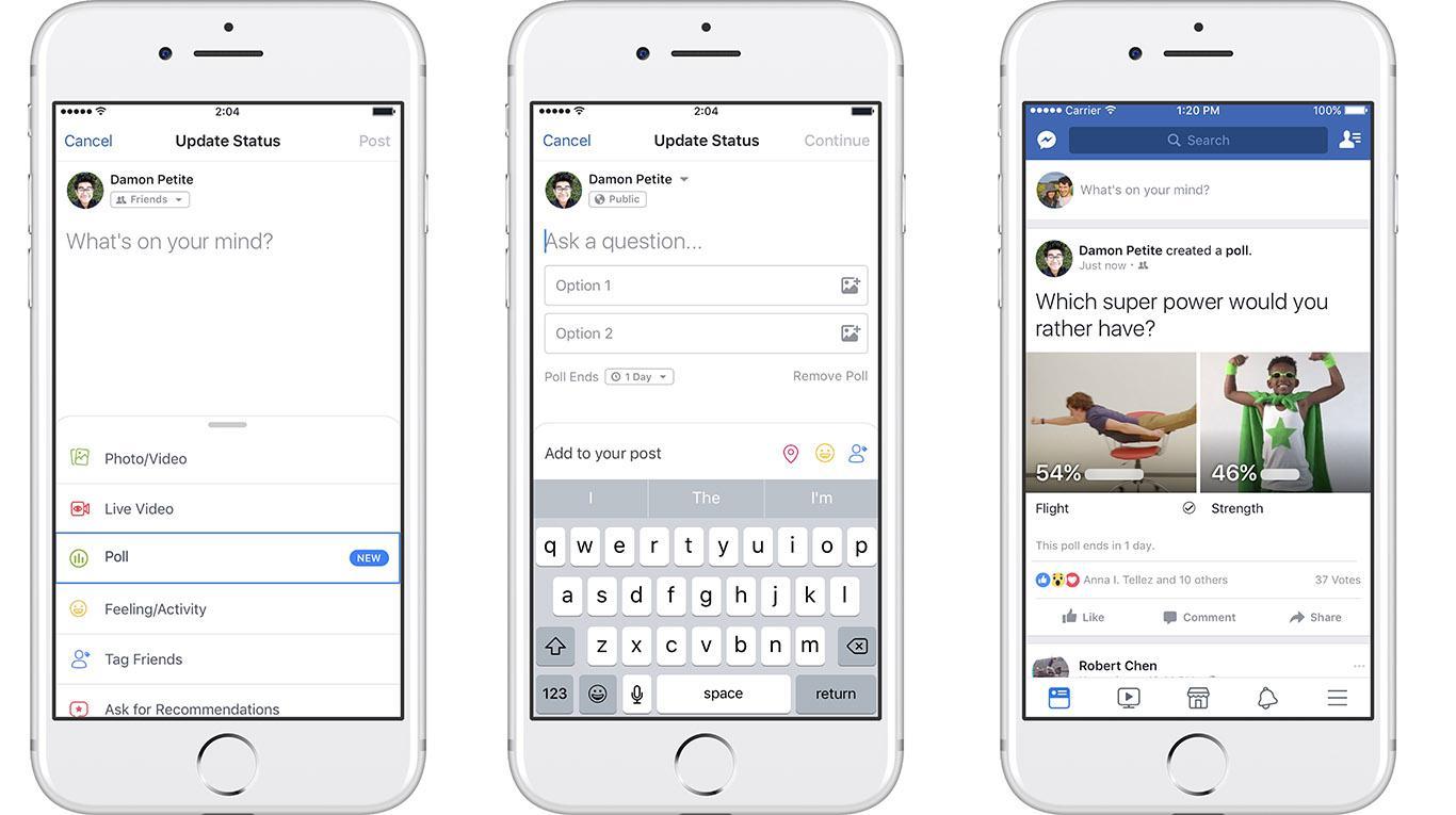 Come creare sondaggi su Facebook nel 2019? 2