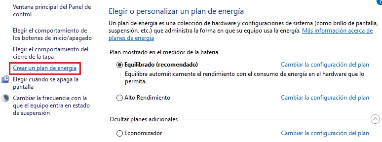 Come disabilitare il risparmio energetico in Windows 10 e configurarlo correttamente? Guida passo passo 7