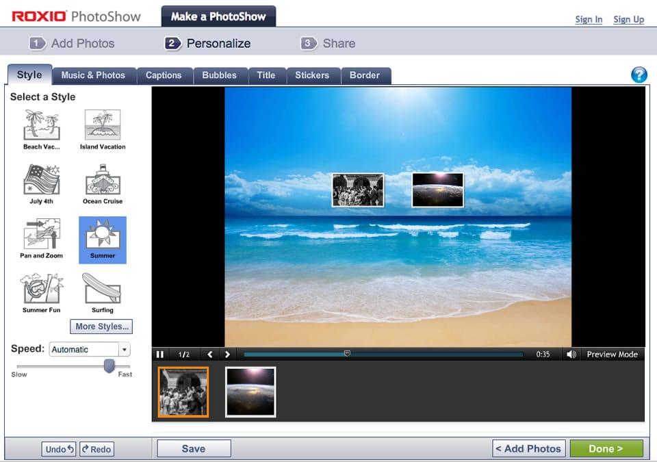 Come realizzare video con foto e musica senza scaricare programmi 2