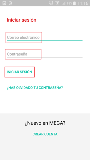 Come accedere a Mega (Mega.nz Limited) in spagnolo facilmente e rapidamente? Guida passo passo 8