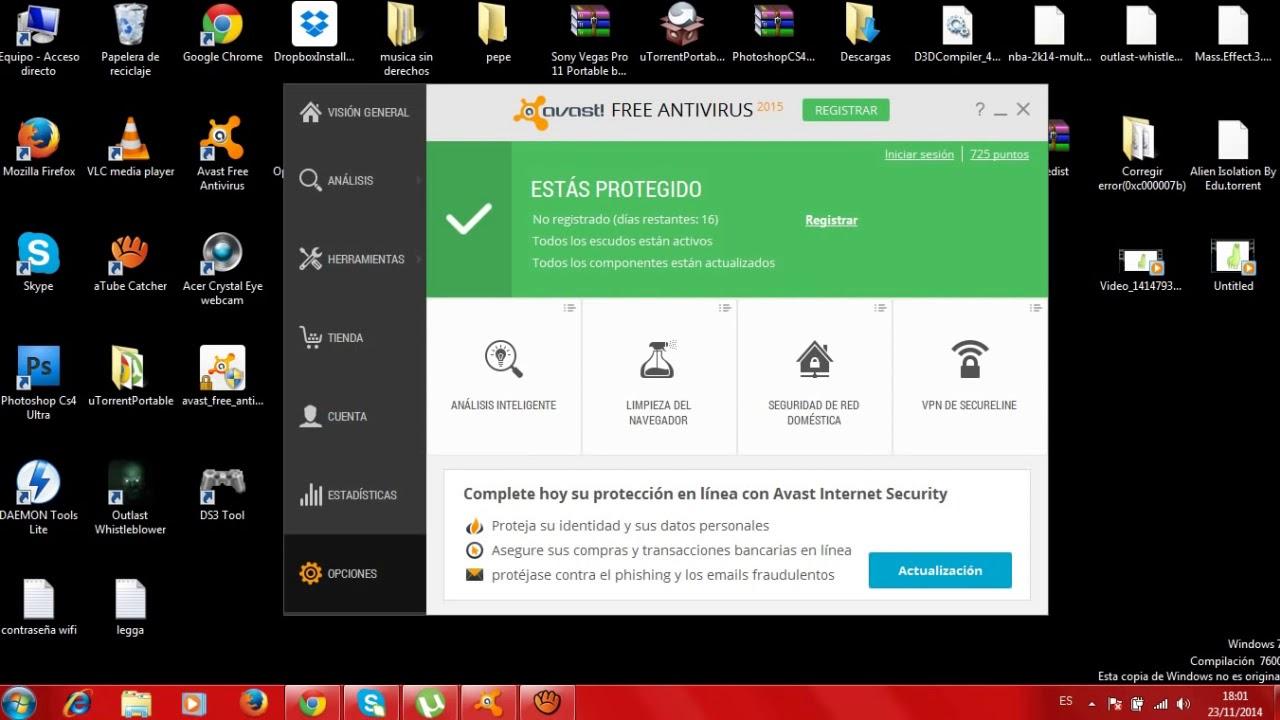 Come disabilitare Avast Antivirus temporaneamente o permanentemente passo dopo passo 1