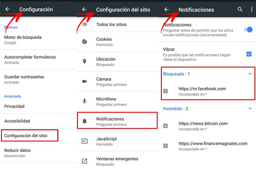 Come bloccare e disabilitare le notifiche di Google Chrome? Guida passo passo 5