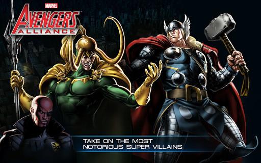 Scarica Avengers Alliance per LG: scegli il tuo eroe 1