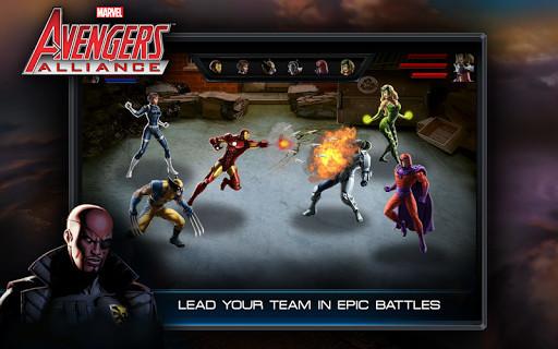 Scarica Avengers Alliance per LG: scegli il tuo eroe 2