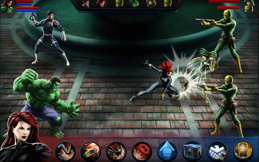 Scarica Avengers Alliance per LG: scegli il tuo eroe 3