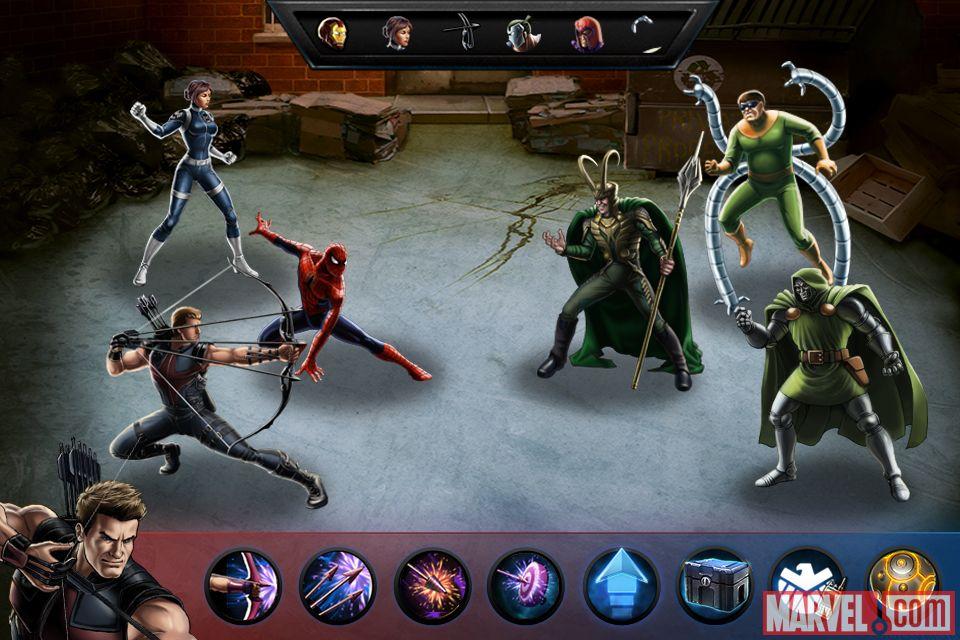 Scarica Avengers Alliance per LG: scegli il tuo eroe 4