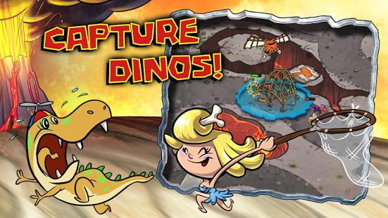 Scarica Bad Dinos per Android: aiuta i cavernicoli! 1