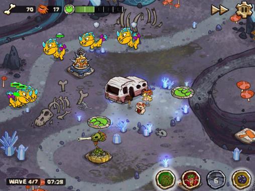 Scarica Bad Dinos per Android: aiuta i cavernicoli! 2