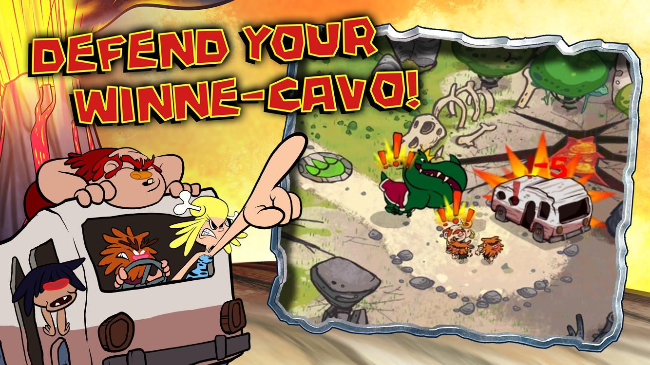 Scarica Bad Dinos per Android: aiuta i cavernicoli! 4