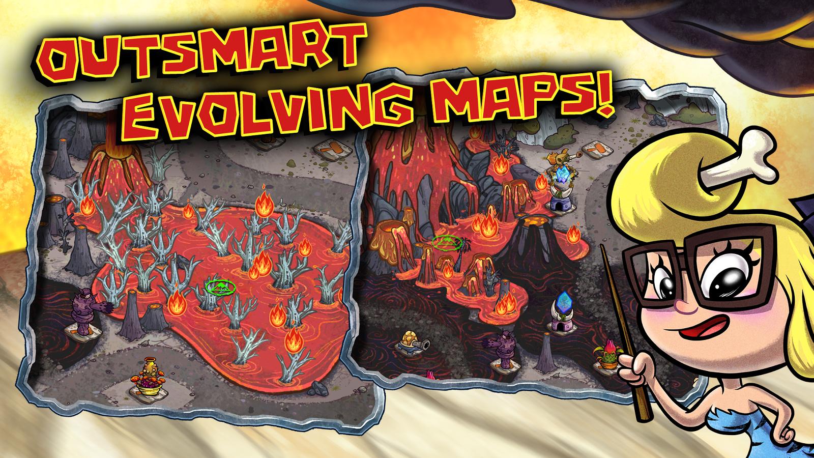 Scarica Bad Dinos per Android: aiuta i cavernicoli! 3