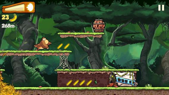 Scarica Banana Kong per iOS: Aiuta il Gorilla! 1