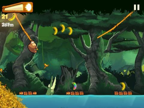 Scarica Banana Kong per iOS: Aiuta il Gorilla! 2