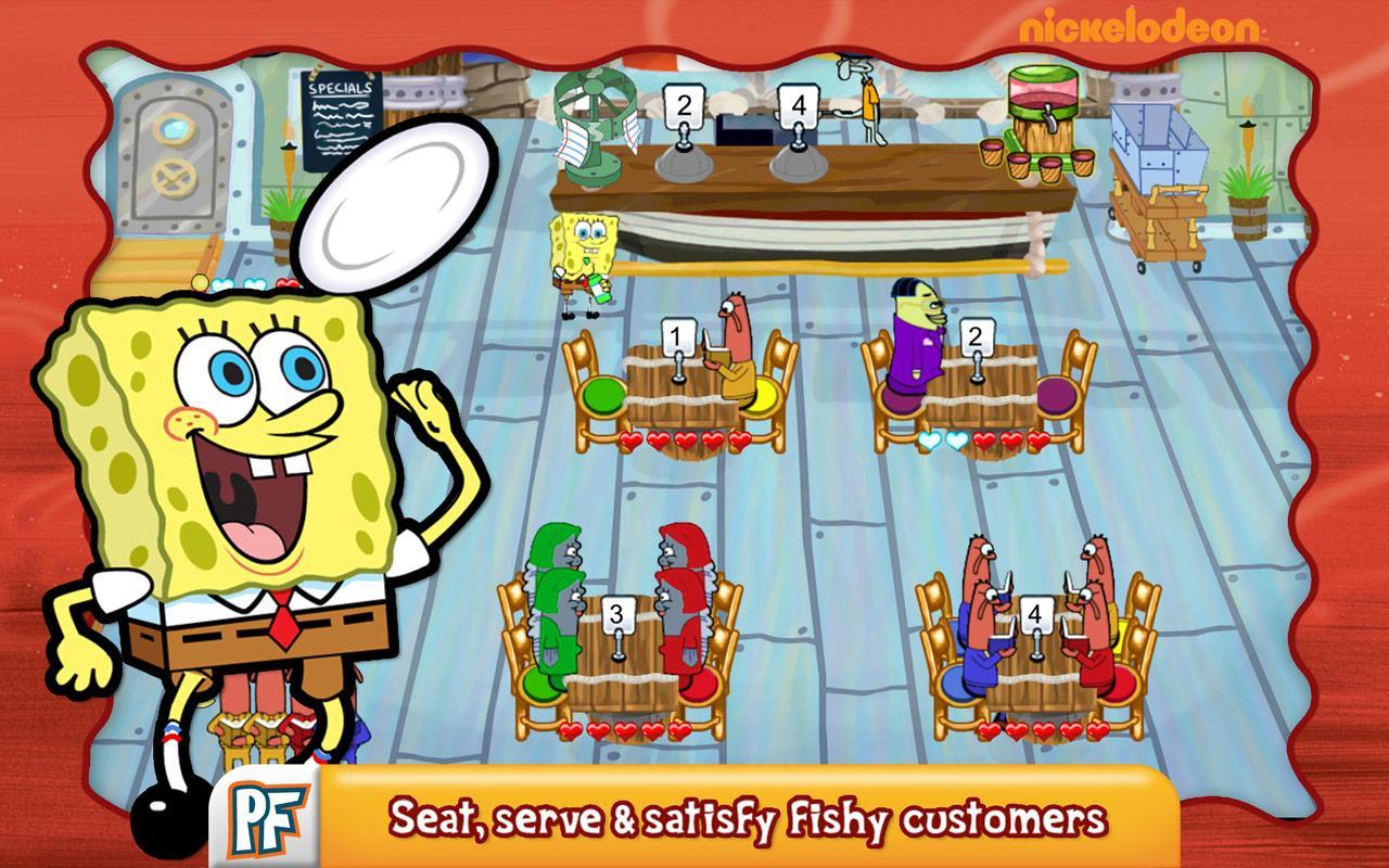 Scarica SpongeBob per Android: aiuta Bob Cook! 2