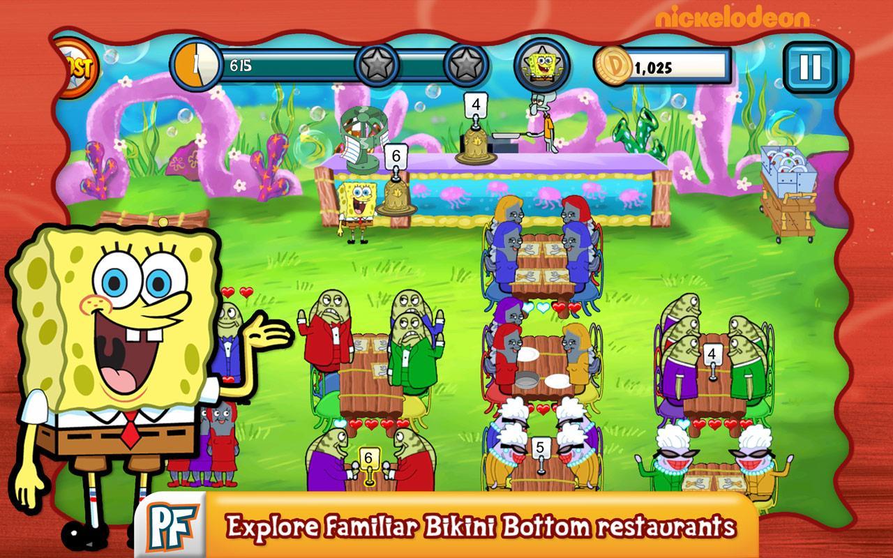 Scarica SpongeBob per Android: aiuta Bob Cook! 3