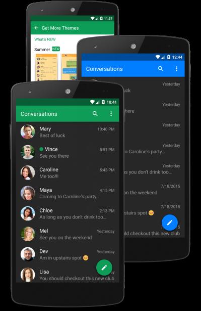 Scarica Chomp per Android: la migliore messaggistica 1