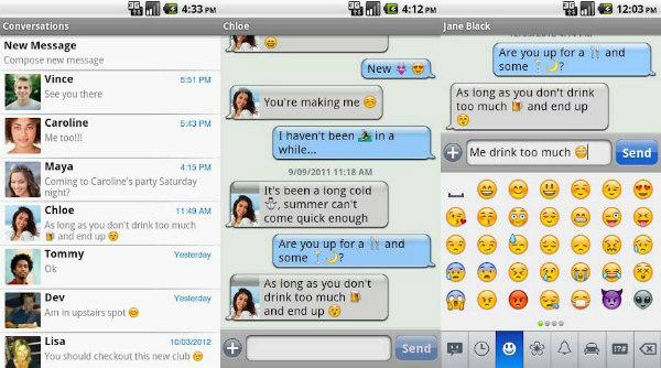 Scarica Chomp per Android: la migliore messaggistica 2