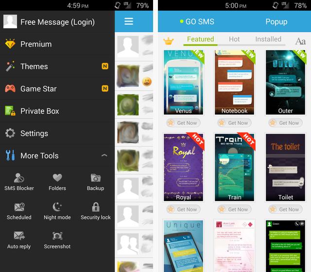 Scarica Chomp per Android: la migliore messaggistica 3