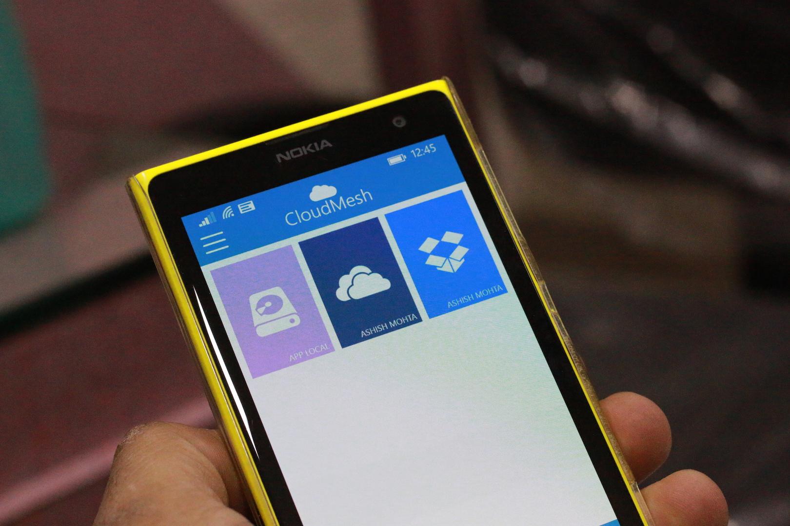 Scarica CloudMesh per Windows Phone 1
