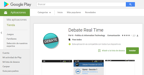 Scarica Debate Real Time per Android 3
