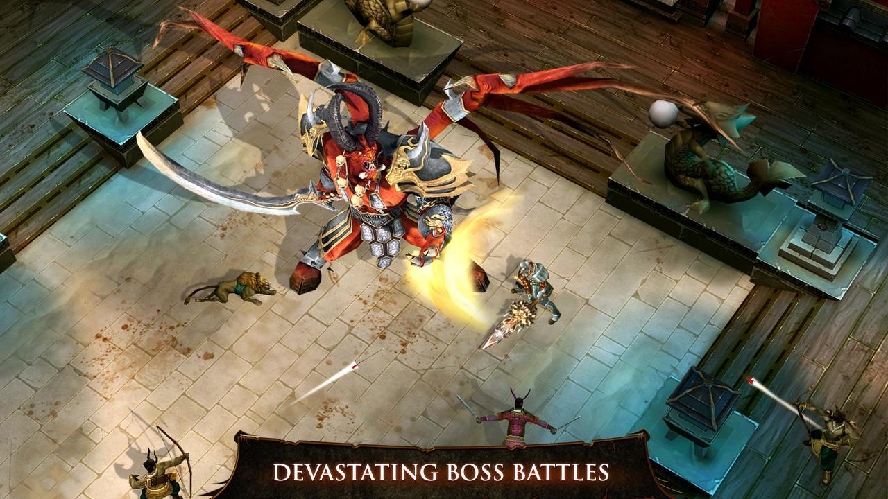 Scarica Dungeon Hunter 4 per iOS: per Demon Hunter 3