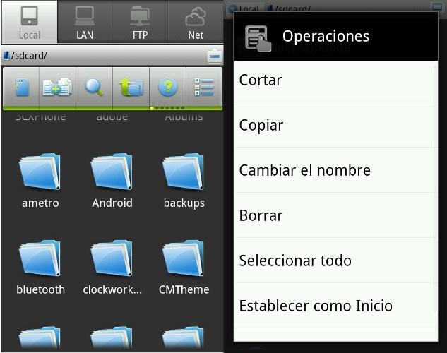 Scarica ES File Explorer per Android 1