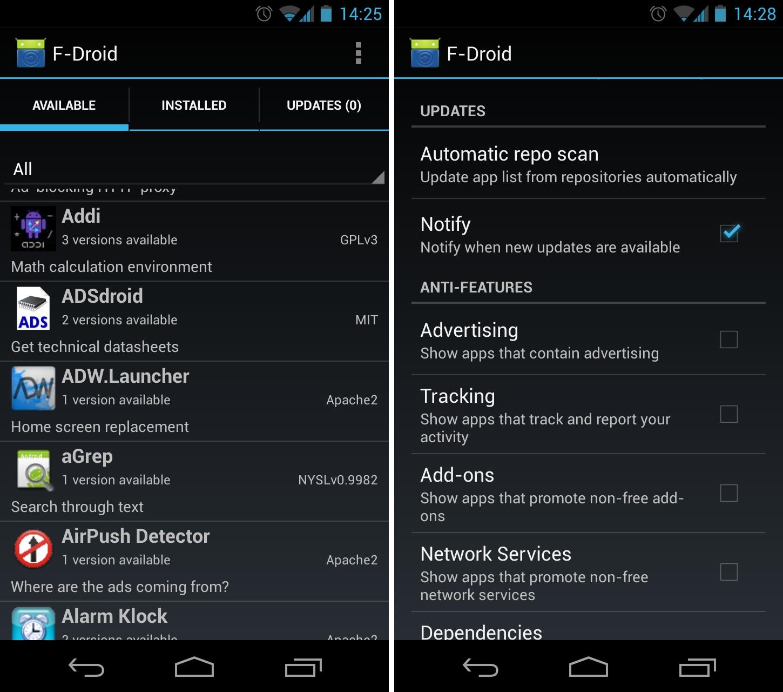 Scarica F-Droid per Android: l'alternativa a Google Play 3